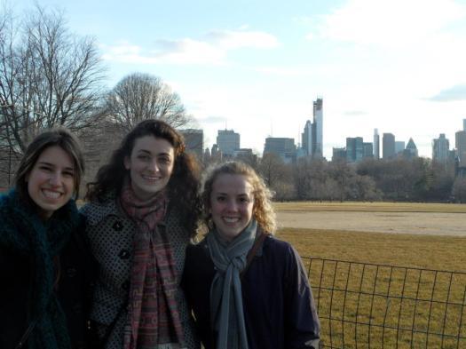 Just a quick walk through Central Park...